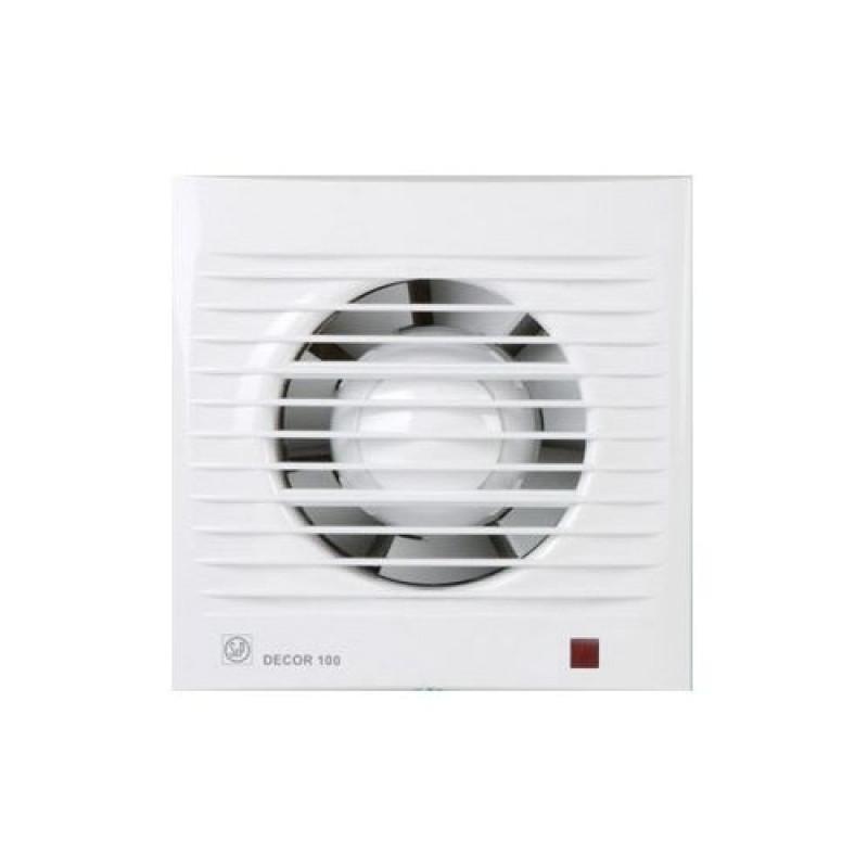 вентилятор DECOR 100 CR с таймером времени