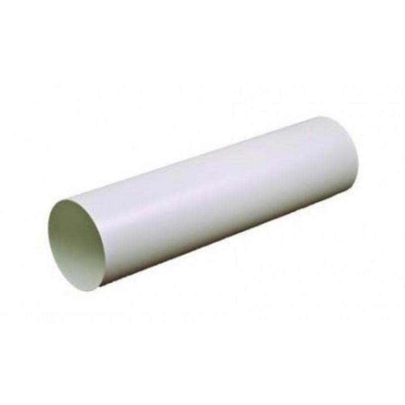 Воздуховод пластиковый 125 (0,5м)