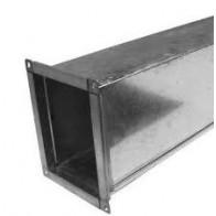 Воздуховод прямоугольный из оцинкованной стали 150х100 (1000мм)