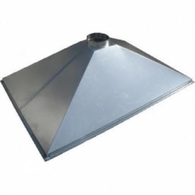 Зонт вытяжной купольный 700х700х400