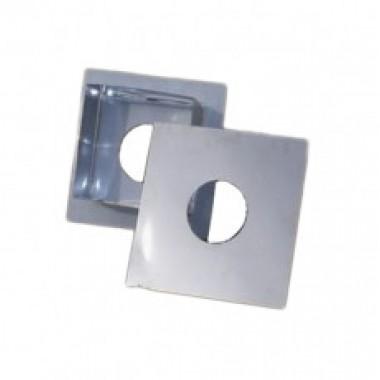 ПОТОЛОЧНО-ПРОХОДНОЙ УЗЕЛ  160 ф из нержавеющей стали