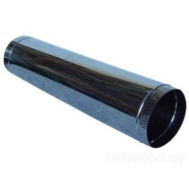 труба ф 130 1метр из нержавеющей стали