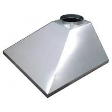 Зонт вытяжной купольный 1500х1500х500