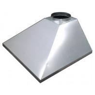 Зонт вытяжной купольный 1000х1000х400