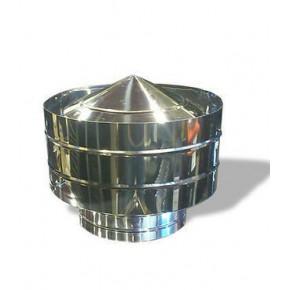 Дефлектор Ф130 из нержавеющей стали