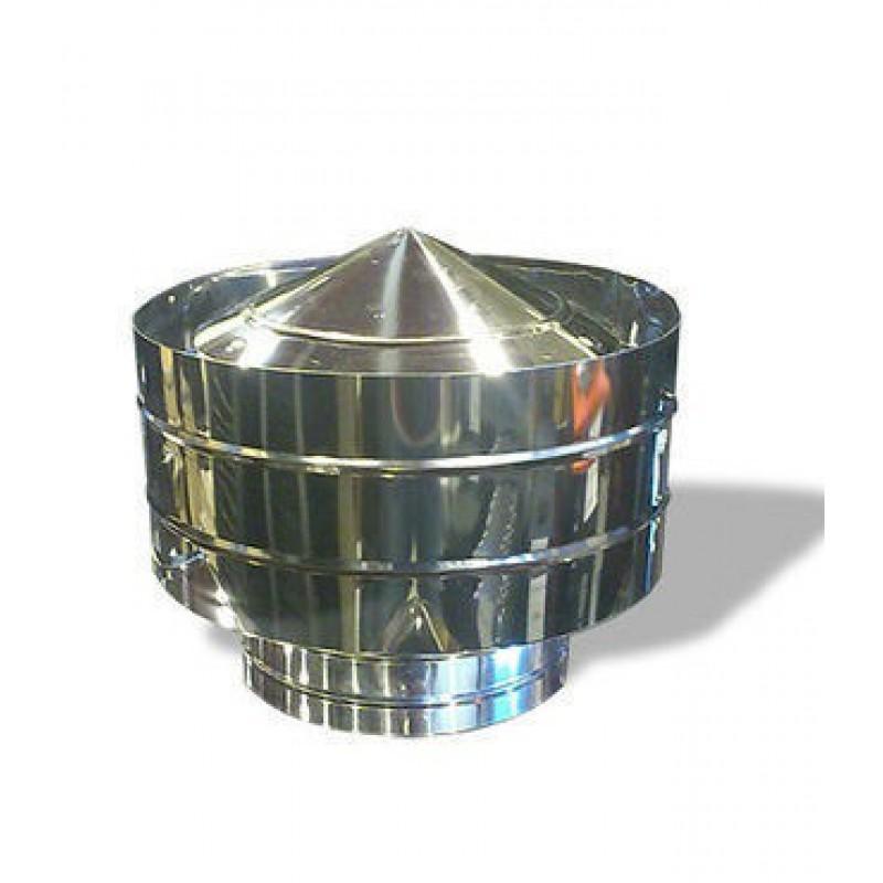 Дефлектор Ф120 из нержавеющей стали
