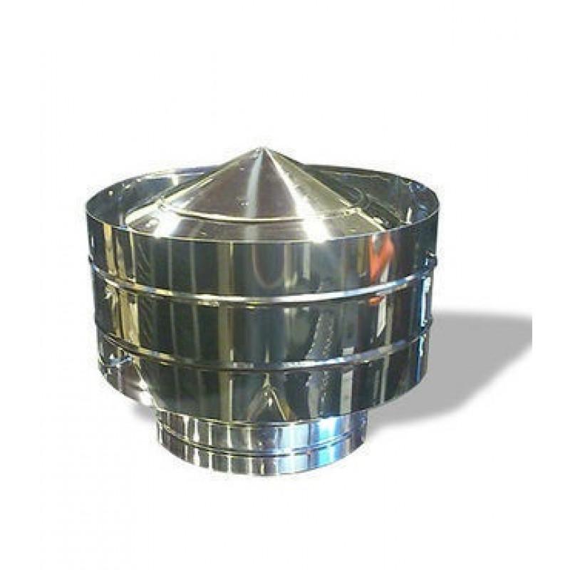 Дефлектор Ф135 из нержавеющей стали