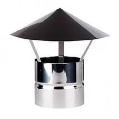 Зонт ф80 из нержавеющей стали