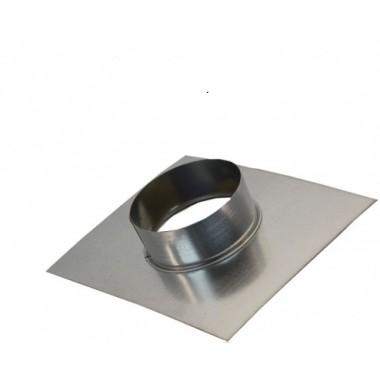 фланец-врезка 125 из оцинкованной стали