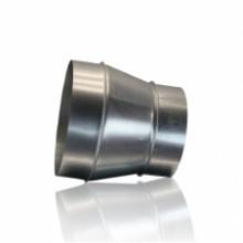 ПЕРЕХОД 100х125 из оцинкованной стали