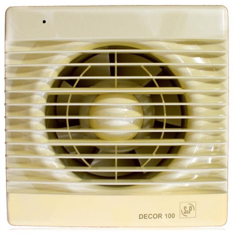 вентилятор DECOR 100C IVORY