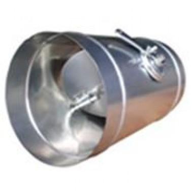 Дроссель-клапан 180 из нержаевеющей стали
