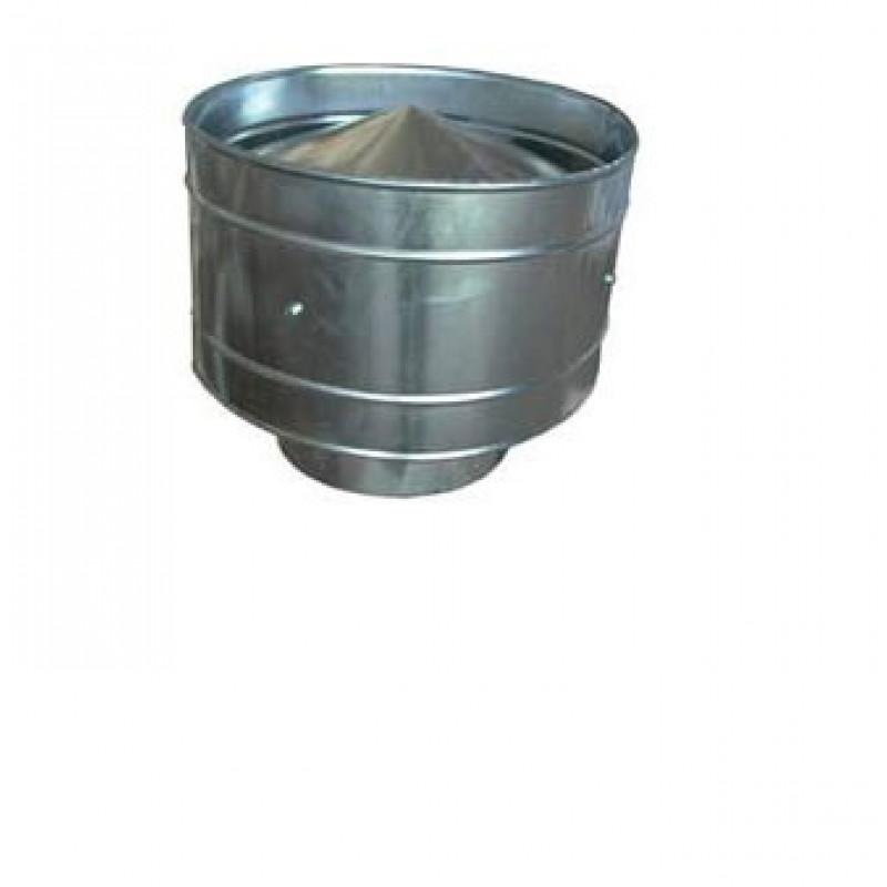 Дефлектор 180 из оцинкованной стали