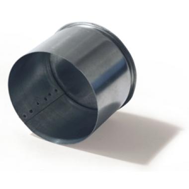 Заглушка 130 из оцинкованной стали