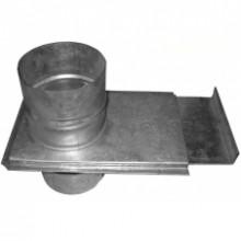 Шибер 180 из оцинкованной стали