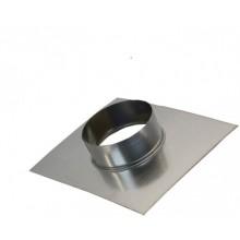 фланец-врезка 130 из оцинкованной стали