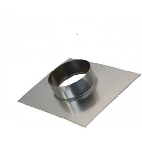 Фланец-врезка 180 из оцинкованной стали