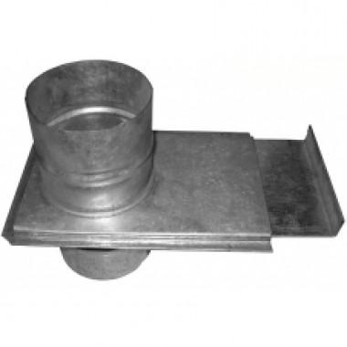 Шибер 125 из оцинкованной стали