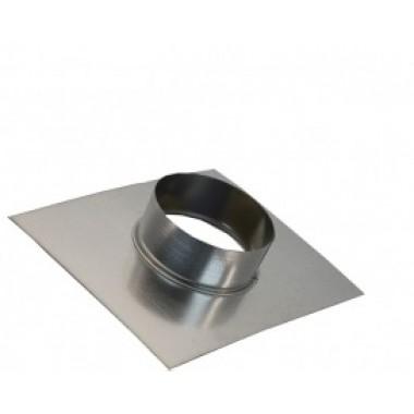 Фланец-врезка 180ф из нержавеющей стали