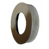 Заглушка с отверстием 160х250 из оцинкованной стали