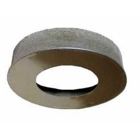 Заглушка с отверстием 110х200 из оцинкованной стали