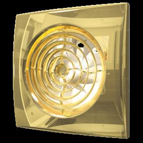 Вентилятор накладной  AURA 4 c 100 gold
