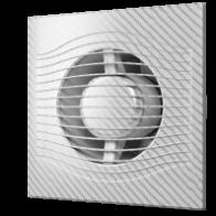 вентилятор накладной slim 4c 100 white carbon