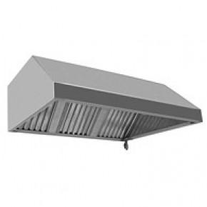 Вытяжной зонт пристенный 1300х800х400