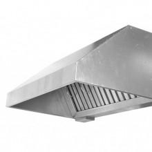 Вытяжной зонт пристенный 900х800х400