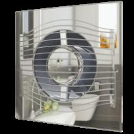 вентилятор накладной slim 4c 100 chrome