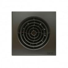 Вентилятор накладной  AURA 4 c 100 dark gray metal