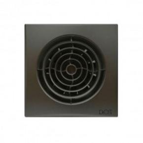 Вентилятор накладной  AURA 5 c 125 dark gray metal