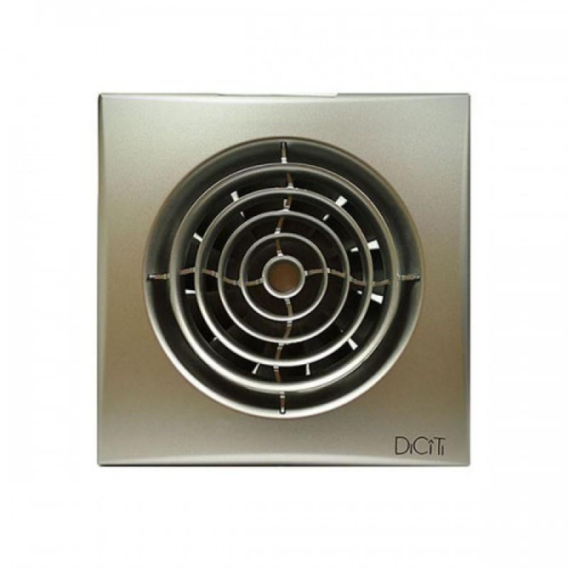 Вентилятор накладной  AURA 4 c 100 GRAY METAL