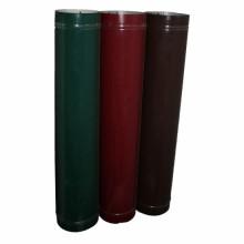 Воздуховод (труба) ф110 1 м коричневый