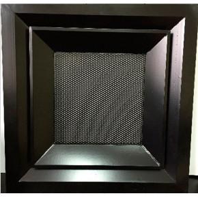 Дифузор потолочный 4АПН с перфорированной сеткой 350х350