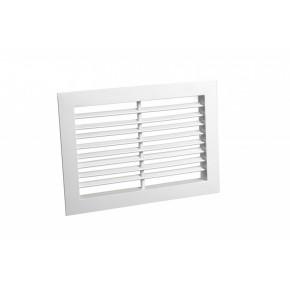Вентиляционная алюминиевая решетка нерегулируемая АЛН размер (1000x100)