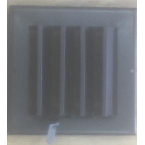 Алюминиевая решетка с ручным управлением RK размер (1000x100)