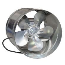 Вентилятор  ВКО 200 осевой в канале на Q моторах ebmpapst (400 m³/h)