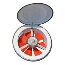Вентилятор Dundar K 25 осевой с крышкой (800 m³/h)